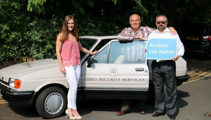 Abbey Security and St Nicholas Hospice Care