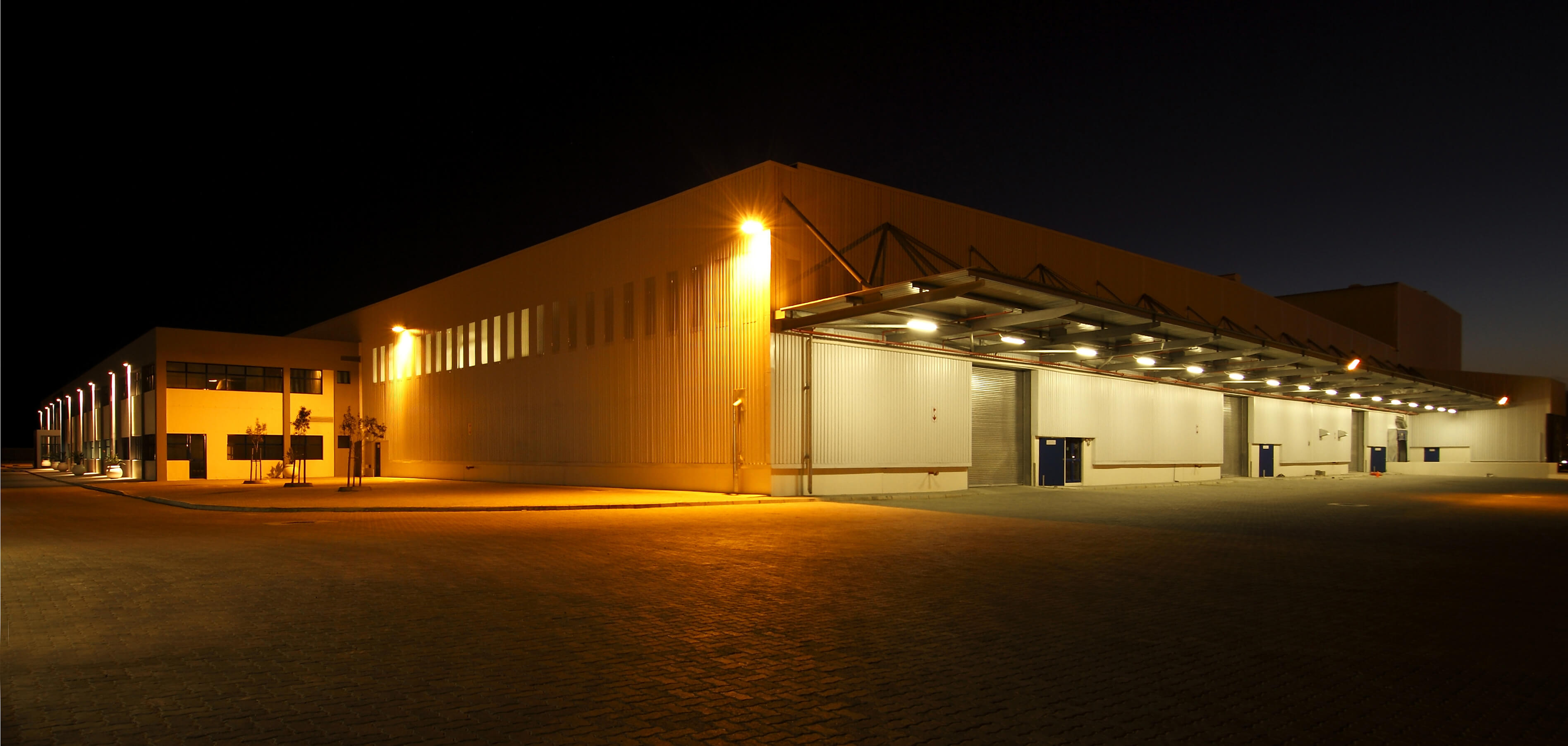Warehouse Security Lighting