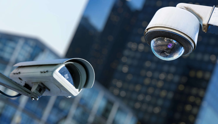 CCTV Cameras providing security at business premises